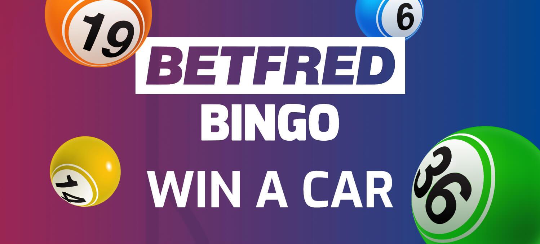 Betfred bingo win a car